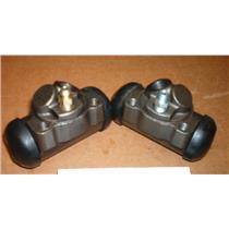 Cadillac Wheel Cylinder Set 2 cylinders REAR 1958 1959 1960 1961 1962 1963 1964