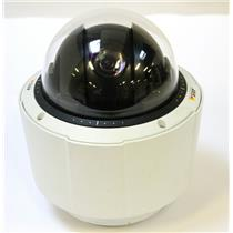Axis Q6034 PTZ IP Network POE Dome Camera 720p HD 18x Optical Zoom
