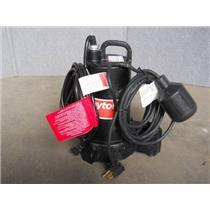 Dayton 3BB77 1/2 HP Submersible Sump Pump Hz60 VAC120