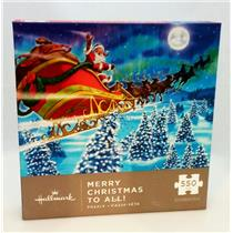 Hallmark Exclusive 2017 Merry Christmas to All Puzzle - 550 Pieces - #VIP1010