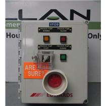 Edwards IQDP80/QMB500 Dry Pump Emergency Shut Off/Alarm Controller Control Box