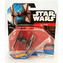 Hot Wheels FIRST ORDER SPECIAL FORCES TIE FIGHTER - STAR WARS STARSHIP - #CKJ67