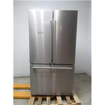 "BLOMBERG 36"" Counter Depth French Door Refrigerator Stainless Steel BRFD2230SS"