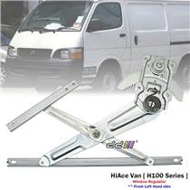 Front Left LHS Manual Window Regulator For Toyota Hiace H100 Series Van 1989-04
