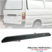Rear Tailgate Center Garnish Trim For Toyota Hiace H100 Series Van 1989-2004