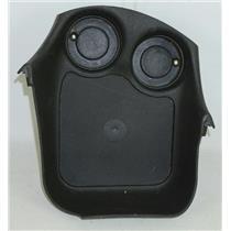2001-2005 Pontiac Grand Am Front Floor Console Cup Holder w/ Open Storage Black