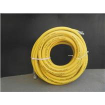 Strahman Extruded S-X 300 PSI WP 5/8 FDA Hose 75Ft Yellow