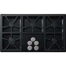 Dacor 36 Inch 5 Perma-Flame Technology Sealed Burners Gas Cooktop DTCT365GBNG