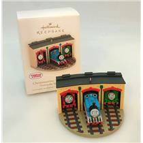 Hallmark Ornament 2009 Christmastime With Thomas - Thomas and Friends - #QXI1342
