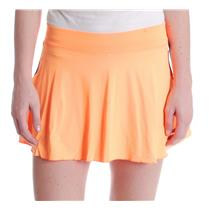 NWT Sz S Sofibella Women's Azalea 14 Inch Skort with Shorts in Paperino Orange