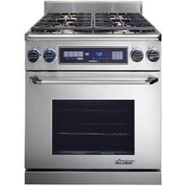 "DACOR 30"" 4 Sealed Burners 18,000 BTU Pro-Style Dual Fuel Range ER30DSRSCHNG"