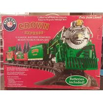 2008 Hallmark Crown Express Lionel Train Set - Very Hard to Find Set #7-11097-DB