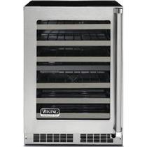 Viking Professional Series 24 Inch Undercounter Wine Cellar VWUI5240GLSS