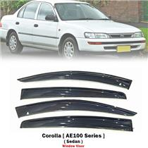 Weathershield Car Window Door Visor Wind Deflector For Toyota Corolla AE100 4DR
