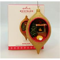 Hallmark Keepsake Club Ornament 2017 Inside Story #2 - #QXC5018-SDB