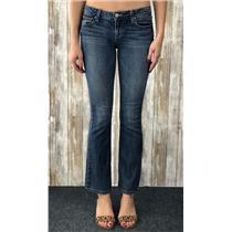 25 Paige Denim Medium Wash Skyline Bootcut Cotton USA MADE Jeans 0104369-1512