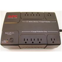 APC BE550R Back-UPS 120V 330W 550VA Battery Backup and surge Protection REF