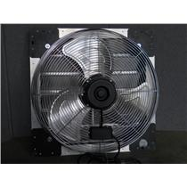 "AirMaster 24"" Shutter Mount Exhaust Fan Model LPSF24 120Vac 60Hz 2.44A"