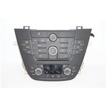 2011-13 Buick Regal Dash Radio Climate Bezel Auto Climate Control & Heated Seats