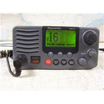 Boaters' Resale Shop of TX 1710 2754.22 RAYMARINE RAY 218 VHF RADIO E43032 & MIC