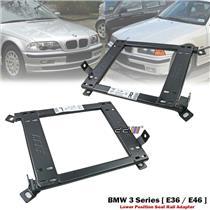 Front 1 Set Lower Position Seat Rail Recaro Sparco Bride BMW E36 E46 3 Series