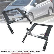 Front 1 Set Lower Position Seat Rail Recaro Sparco Bride Honda Jazz GK 2014-ON