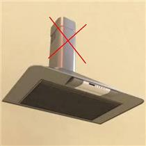 "BROAN 30"" WALL CHIMNEY HOOD RM503004 STAINLESS STEEL WITH DINGS/TRIM SCUFFS"