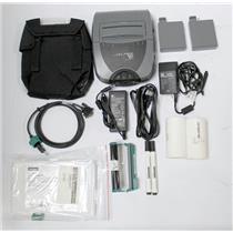 Zebra P4T P4D-0U100000-B1 Mobile Thermal Barcode Tag Label Printer RFID