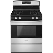 AMANA 30 Inch Easy Touch Controls Bake Assist SS Gas Range AGR6303MFS