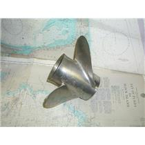 Boaters' Resale Shop of TX 1712 0445.02 STILETTO 31317 Y1317 THREE BLADE SS PROP