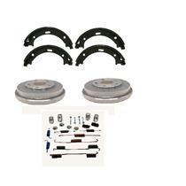Brake Shoe Drum plus Hardware Rear Kit Set fits 1993-2001 Toyota Corolla