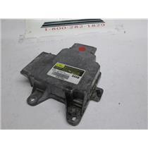 SAAB SRS airbag system control module 12802256