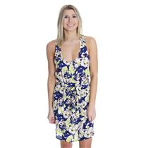 NEW S Sam & Lavi Clemente Floral Print Racerback Dress Rayon CELEBRITY FAVORITE