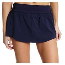 "NWT Sz 6 Lululemon Final Lap 13"" Athletic Tennis Skirt/Skort in Midnight Navy"