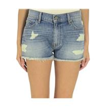$124 Sz 30 Dakota Collective Denim Joey Boyfriend Cut Off Short DE23233 USA MADE