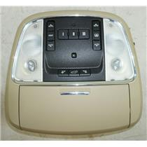 11-15 Jeep Grand Cherokee Overhead Console Sunroof, Hatch Controls & Homelink