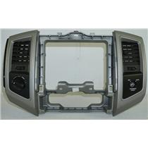 05-11 Toyota Tacoma Center Dash Radio Climate Bezel with 4WD Switch Right Switch
