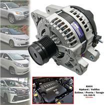 100A Alternator For Toyota Estima Tarago GSR50 Alphard Vellfire GGH20 2GR-FE