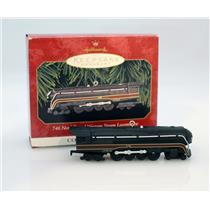 Hallmark 1999 Lionel Trains #4 746 Norfolk Western Steam Locomotive - #QX6377-DB