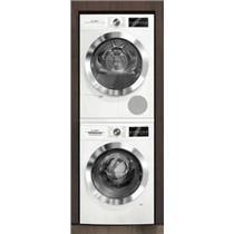 BOSCH 800 Series Stacking Kit Washer & Dryer Set White WAT28402UC/WTG86402UC (RON)