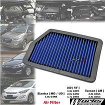 Works High Flow Air Filter For Hyundai Elantra MD UD 1.8L G4NB Petrol 2011-2016