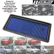 Works High Flow Air Filter For Proton Iriz Persona Preve Saga BLM FL FLX 1.3 1.6