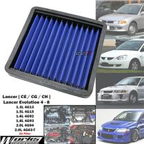 Works High Flow Air Filter For Mitsubishi Lancer EVO 4 5 6 7 8 CP9A CT9A 4G63-T