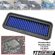 Works High Flow Air Filter For Perodua Alza Myvi 2005-17 1.3L 1.5L K3-VE 3SZ-VE