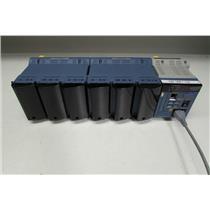 Yokogawa MW100 Data Acquisition Unit w/ MX110-VTO-L30 x6