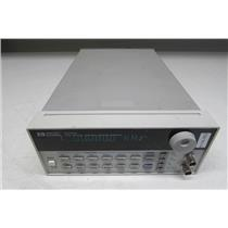 Agilent HP 33120A Function/Arbitrary Waveform Generator,15 MHz, opt 001