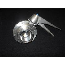 "TRU FLO 2"" Sanitary 316L Butterfly Valves STAINLESS STEEL  ITEM # BFY-316F"