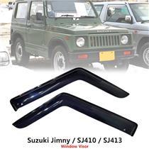 Weathershield Car Window Door Visor Wind Deflector For Suzuki Jimny Sierra SJ413