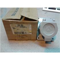 Appleton EFSR 20232 Pin And Sleeve Receptacle; 20 Amp, 250 Volt ...