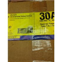 Square D DU321 General Duty Safety Switch